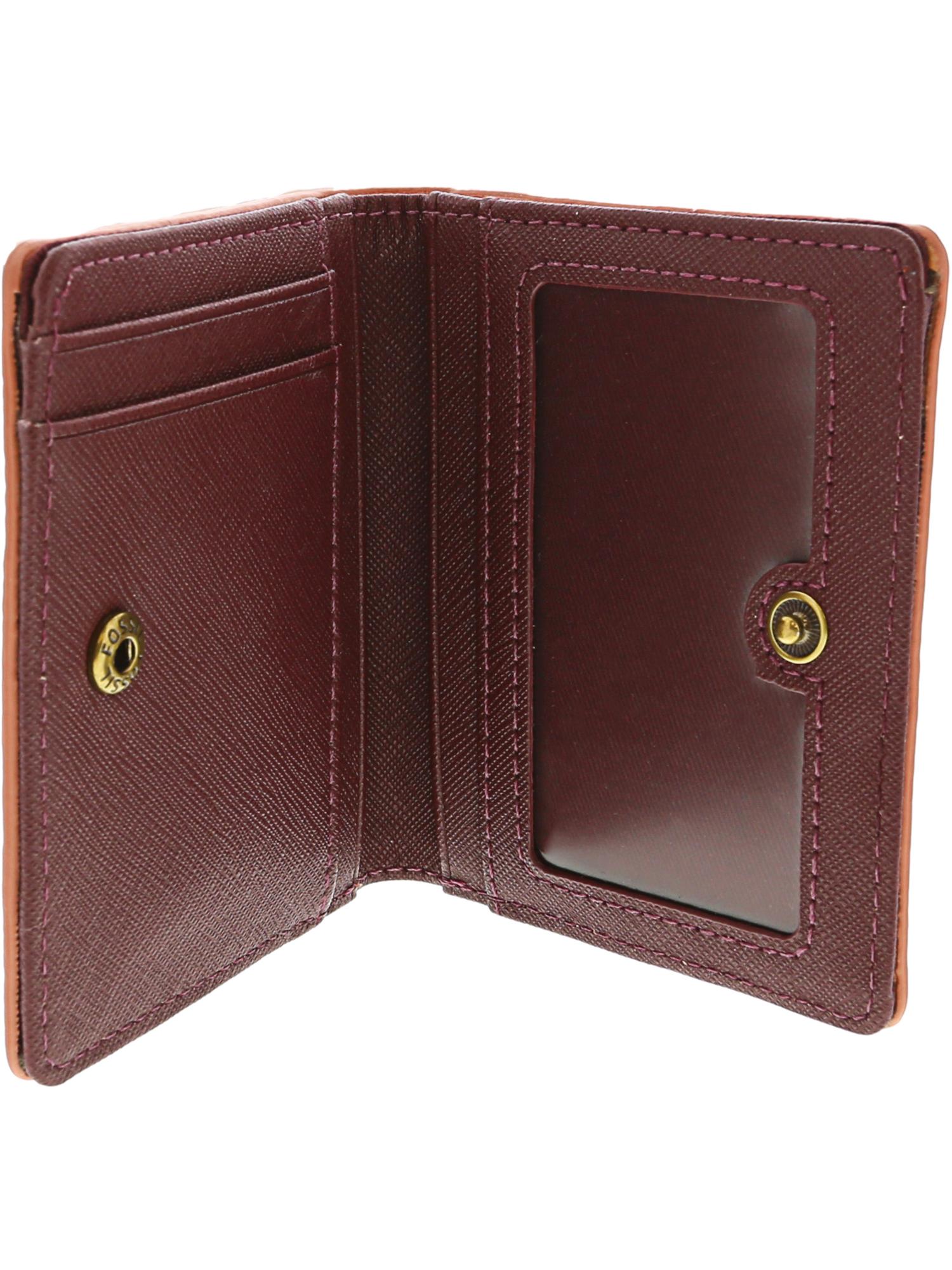 Fossil-Women-039-s-Emma-Rfid-Mini-Leather-Wallet thumbnail 16