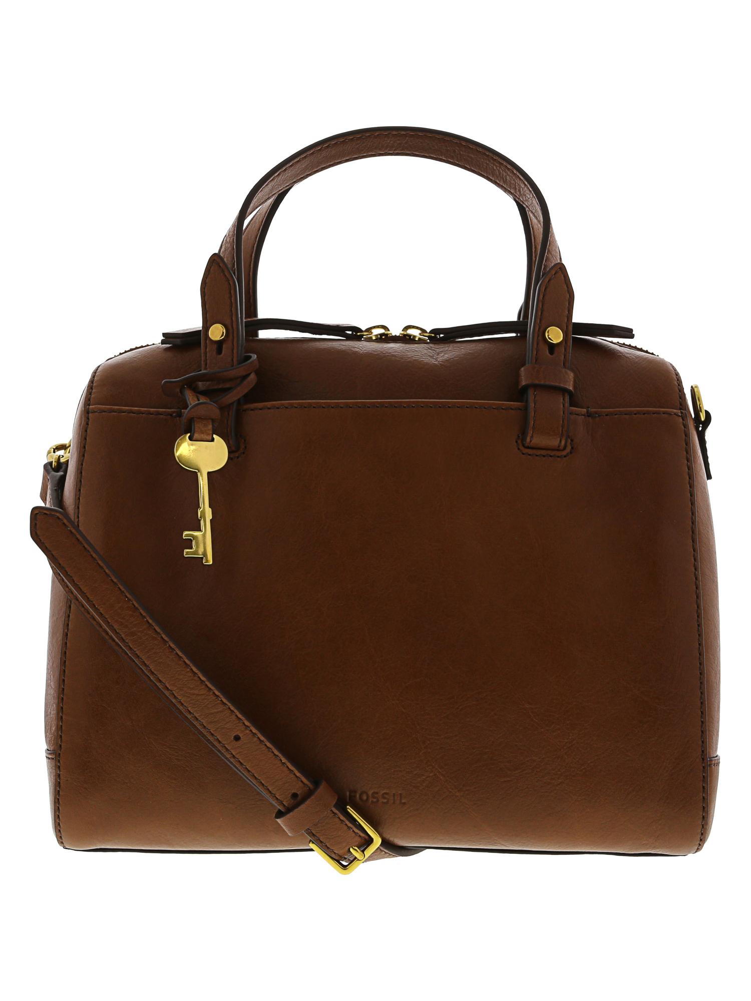6b6730bbaa Fossil Women s Rachel Satchel Handbag Leather Shoulder Bag