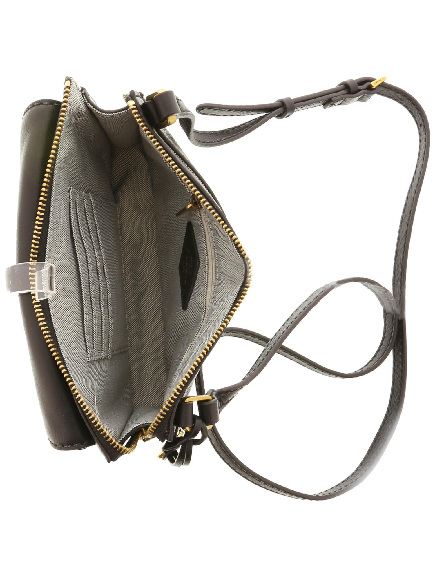 a854250683 Fossil Women s Ryder Crossbody Leather Cross Body Bag