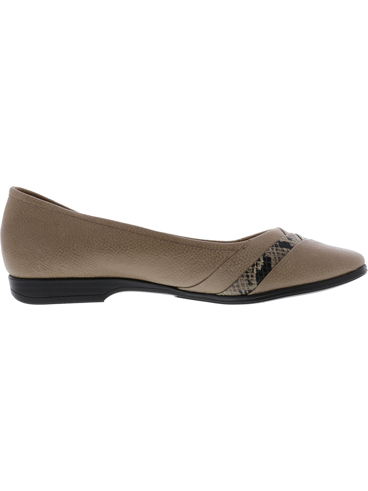 Naturalizer-Women-039-s-Jaye-Ankle-High-Leather-Flat-Shoe miniature 6