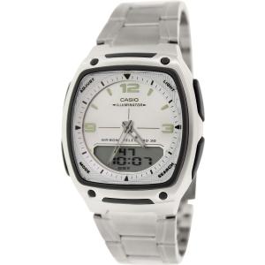 Casio Men's Core AW81D-7AV Silver Stainless-Steel Quartz Watch