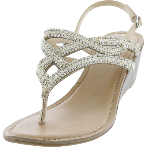 Fergalicious By Fergie Women's Crush 2 Ankle-High Fabric Wedged Sandal