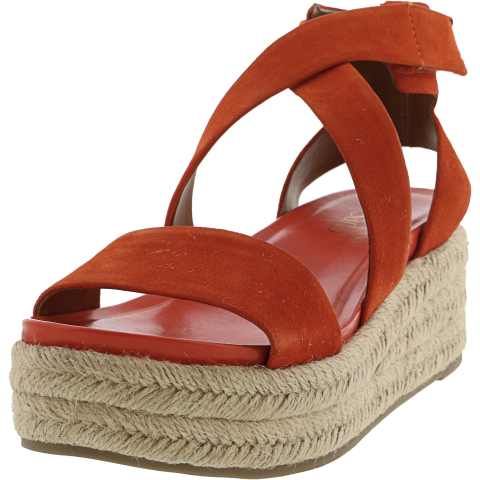 Franco Sarto Women's Tabatha Ankle-High Suede Wedged Sandal