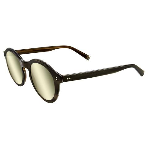 John Varvatos Men's Jv V519 Grey Horn 47/22/150 V519GRE47 Sunglasses
