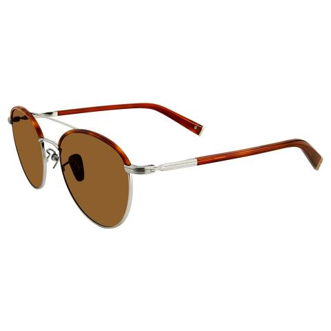 John Varvatos Men's Jv V518 Silver/Havana53/20/145 V518SHA53 Sunglasses