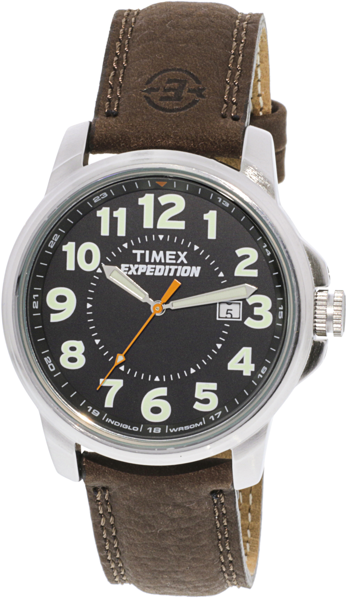 Timex_Mens_Expedition_T44921_Brown_Leather_Quartz_Sport_Watch