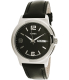Timex Men's Elevated Classics T2E561 Black Leather Quartz Watch - Main Image Swatch