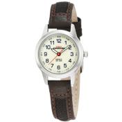 Timex Women's Field T41181 White Leather Quartz Watch