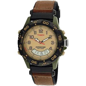 Timex Men's Expedition T45181 Beige Nylon Quartz Watch
