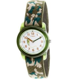 Timex Children's Kids T78141 White Cloth Quartz Watch