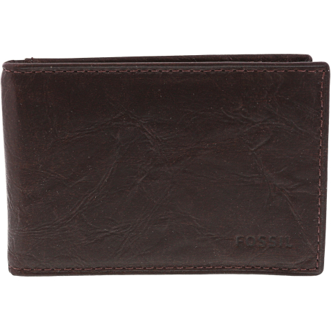 Fossil Ingram Rfid Bifold Leather Wallet