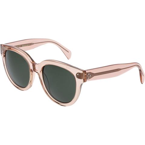 Celine Women's CL41755S-O1F-55 Pink Oval Sunglasses