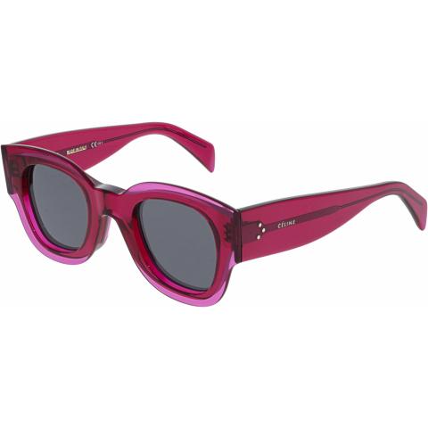 Celine Women's CL41446S-MU1-45 Pink Oval Sunglasses