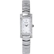 Bulova Women's 96T13 Mother-Of-Pearl Stainless-Steel Quartz Watch
