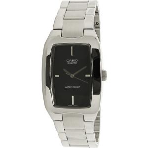 Casio Men's Core MTP1165A-1C Silver Stainless-Steel Quartz Watch