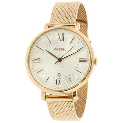 Fossil Women's Jacqueline ES4352 Rose-Gold Stainless-Steel Quartz Fashion Watch