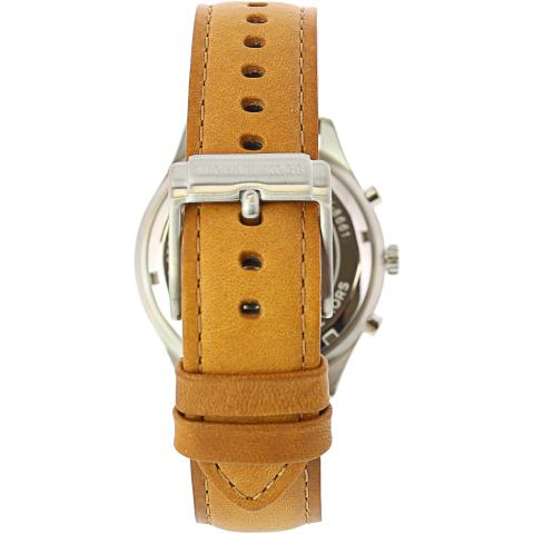 Michael Kors Men's Merrick MK8661 Brown Leather Japanese Quartz Fashion Watch
