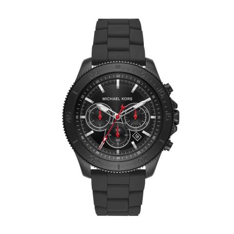 Michael Kors Men's Theroux MK8667 Black Stainless-Steel Quartz Dress Watch