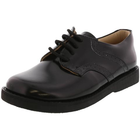 Elephantito Boy's Scholar Golfers Ankle-High Leather Oxford Shoe