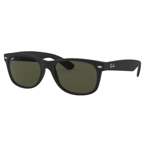 Ray-Ban Men's Gradient New Wayfarer RB2132-622-55 Black Sunglasses