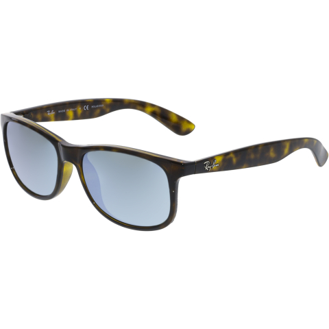 Ray-Ban Men's Andy RB4202-710/Y4-55 Brown Rectangle Sunglasses