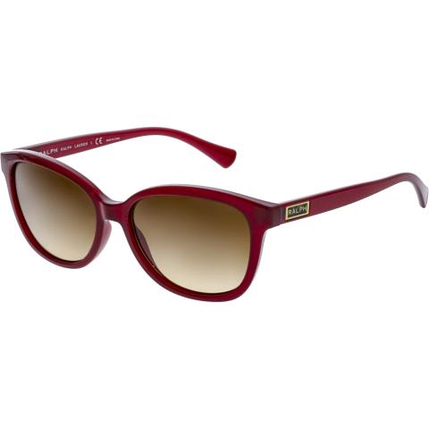 Ralph Lauren Women's Gradient RA5222-161713-56 Red Rectangle Sunglasses