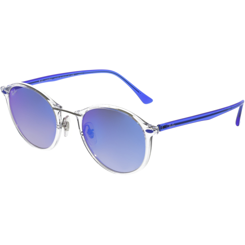 Ray-Ban RB4242-6289B7-49 Clear Round Sunglasses