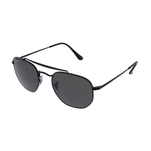 Ray-Ban Men's Gradient Marshal RB3648-002/58-51 Black Geometric Sunglasses