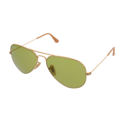 Ray-Ban Photochromatic Aviator Evolve RB3025-90644C-58 Gold Sunglass