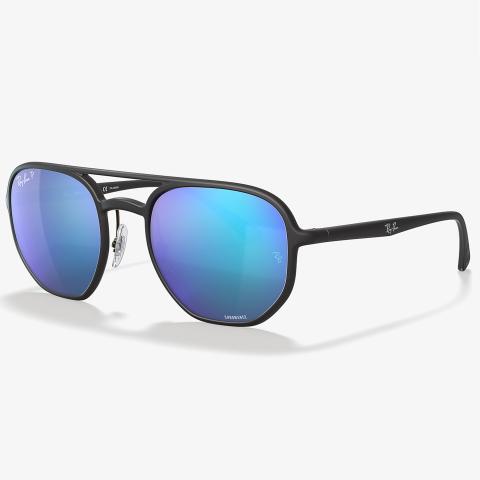 Ray-Ban Polarized Rb4321Ch RB4321CH-601SA153-21 Green Round Sunglasses