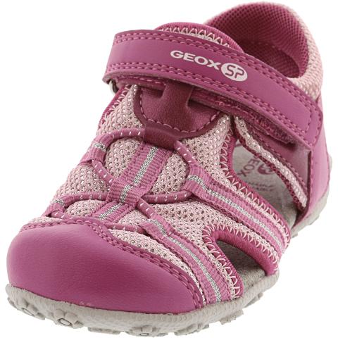 Geox Girl's Roxanne Ankle-High Fabric Sandal