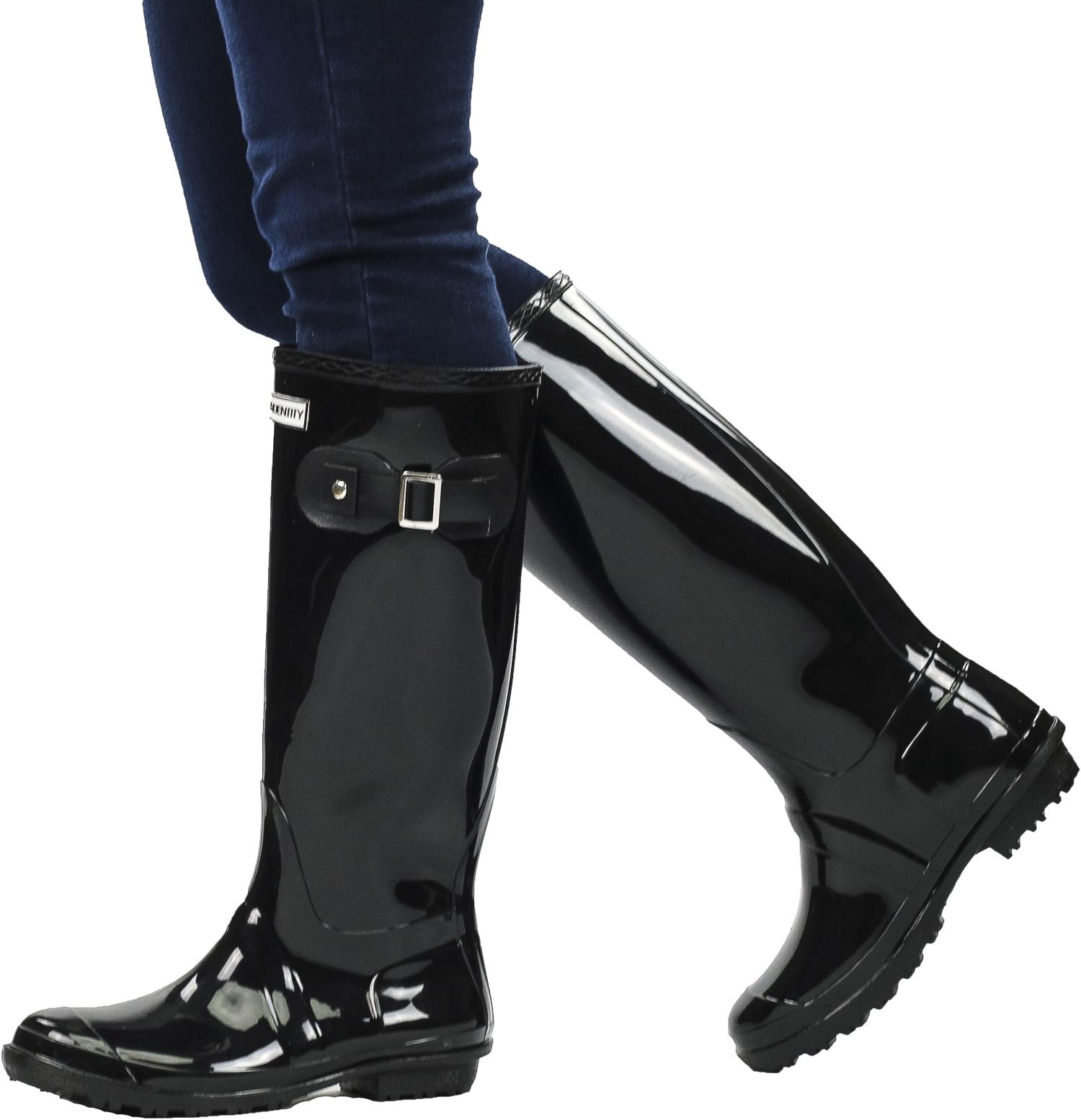 Exotic-Identity-Original-Tall-Rain-Boots-Waterproof-Premium-PVC-Nonslip-So thumbnail 9