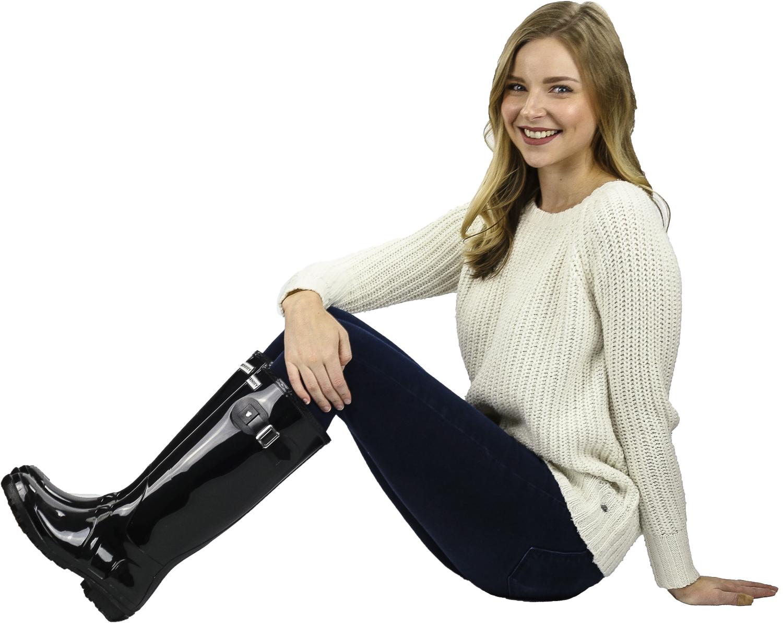 Exotic-Identity-Original-Tall-Rain-Boots-Waterproof-Premium-PVC-Nonslip-So thumbnail 10
