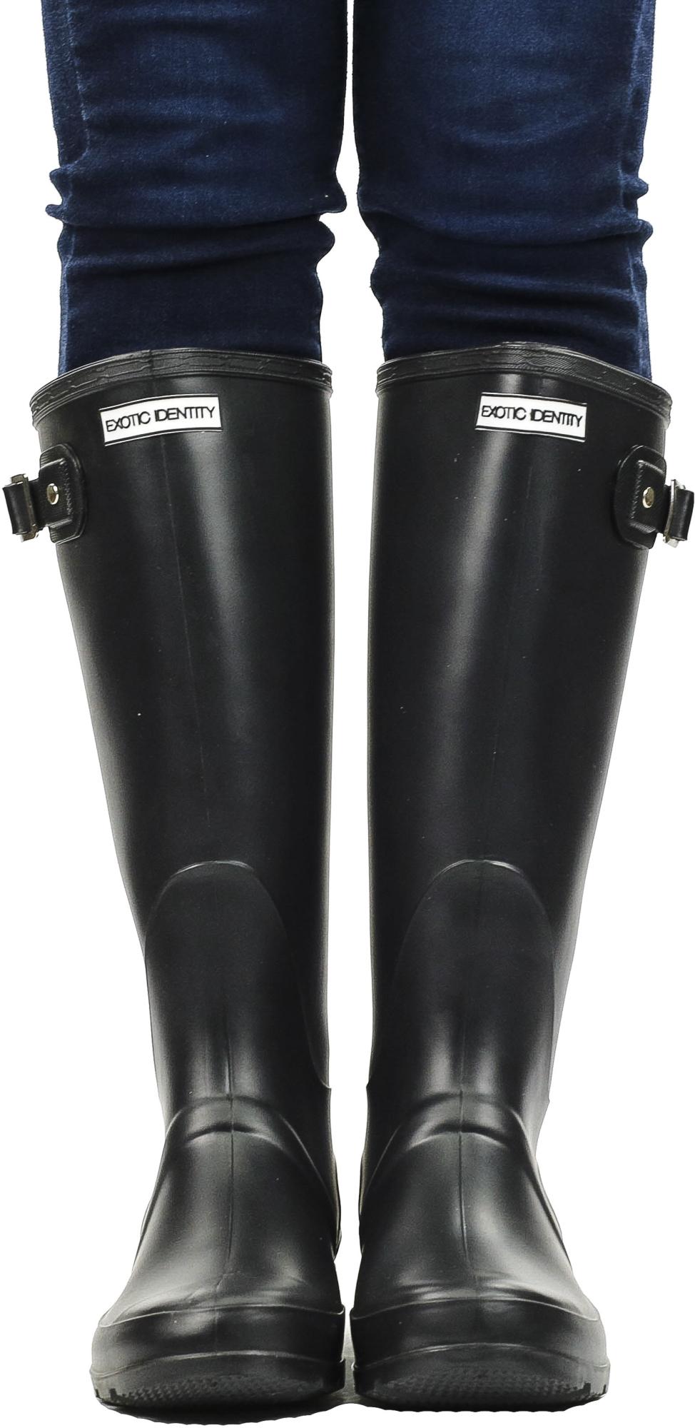 Exotic-Identity-Original-Tall-Rain-Boots-Waterproof-Premium-PVC-Nonslip-So thumbnail 26