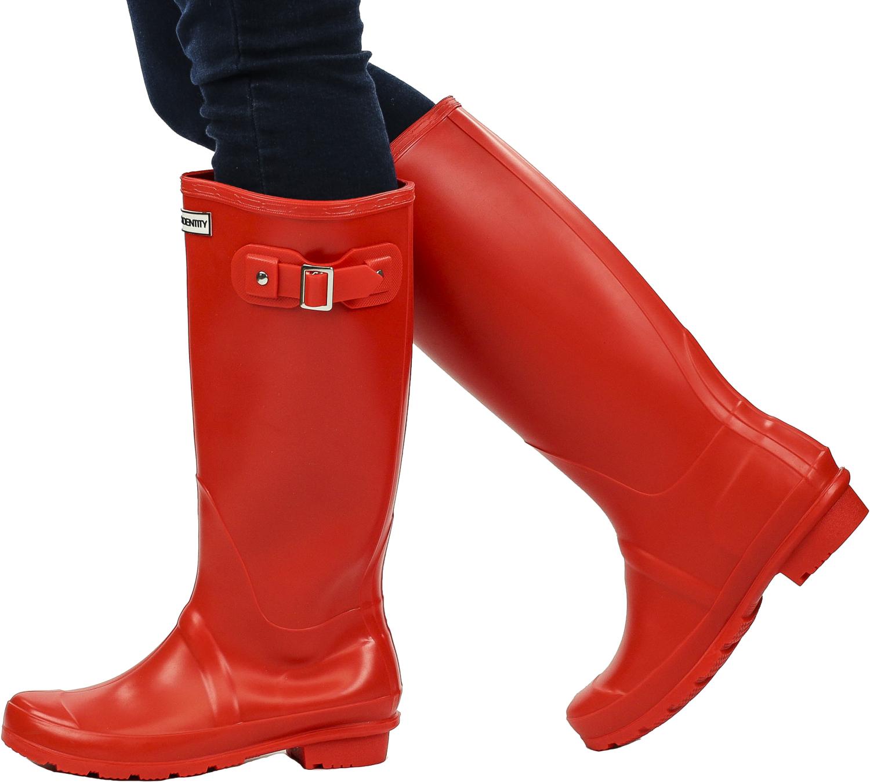 Exotic-Identity-Original-Tall-Rain-Boots-Waterproof-Premium-PVC-Nonslip-So thumbnail 37