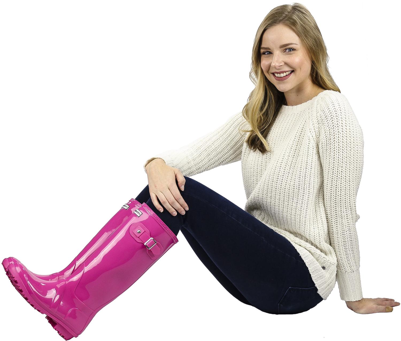 Exotic-Identity-Original-Tall-Rain-Boots-Waterproof-Premium-PVC-Nonslip-So thumbnail 16