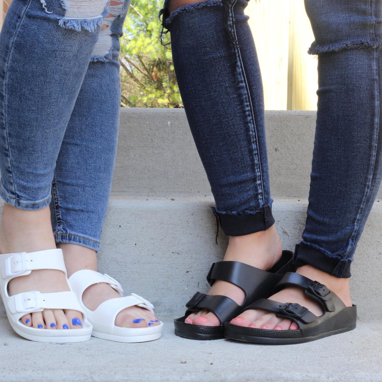 Exotic-Identity-Sandal-for-Women-Waterproof-Slip-On-EVA-Material-Odor-Res thumbnail 11