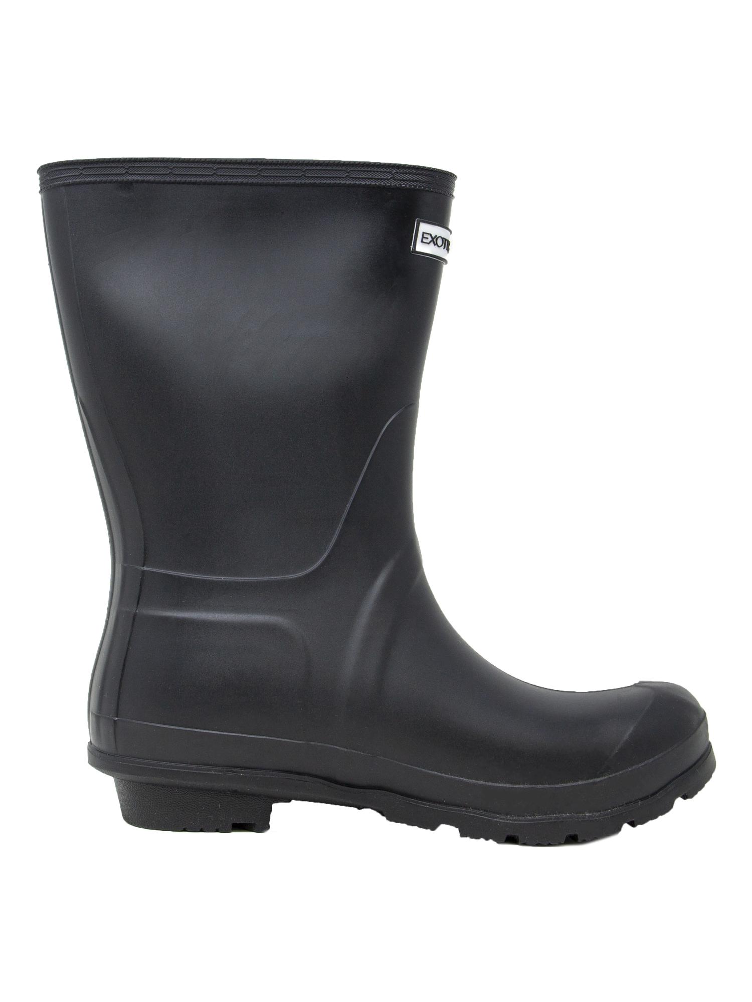 Exotic-Identity-Short-Rain-Boots-Non-Slip-100-Waterproof-for-Women thumbnail 5