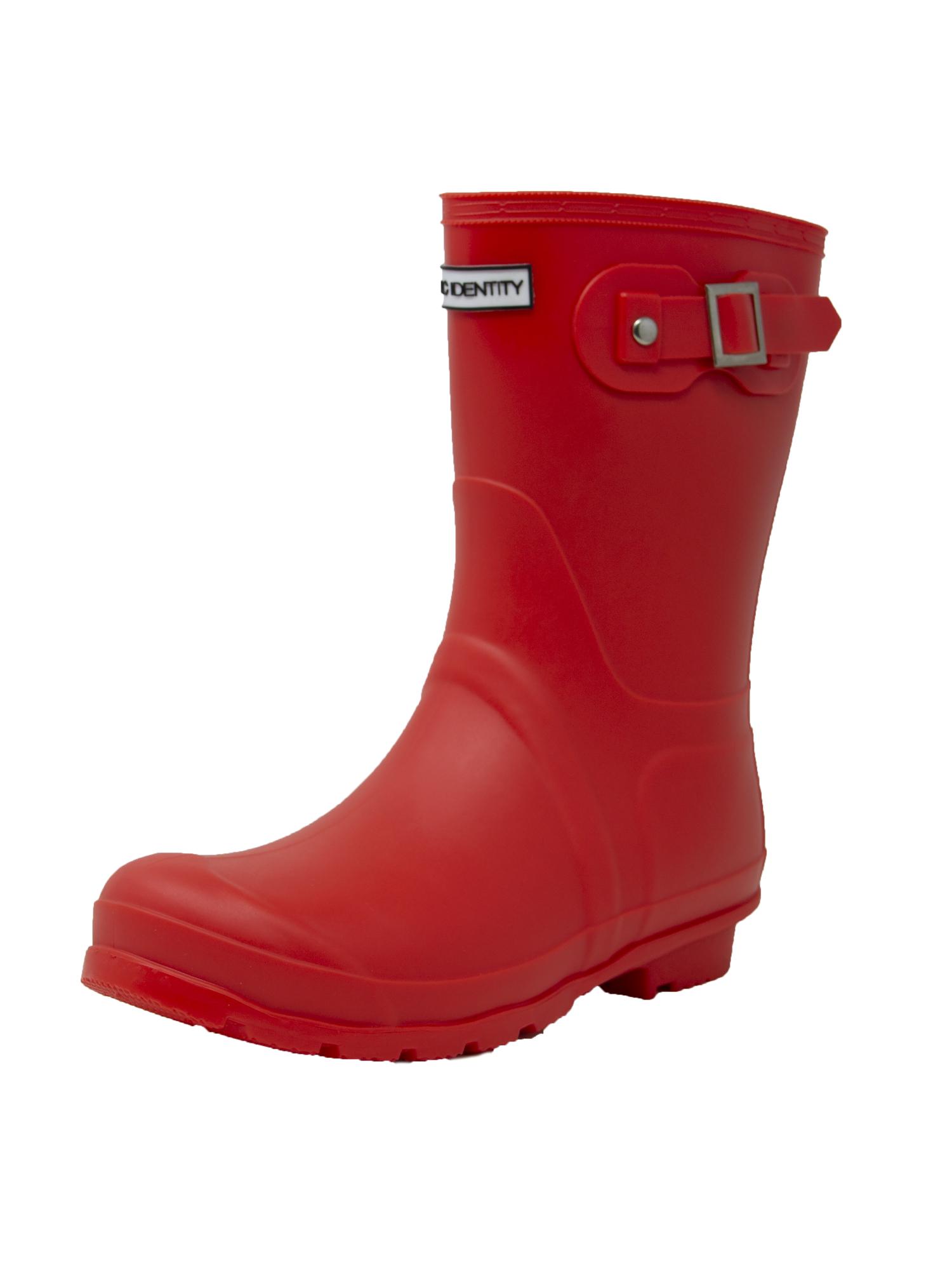 Exotic-Identity-Short-Rain-Boots-Non-Slip-100-Waterproof-for-Women thumbnail 18