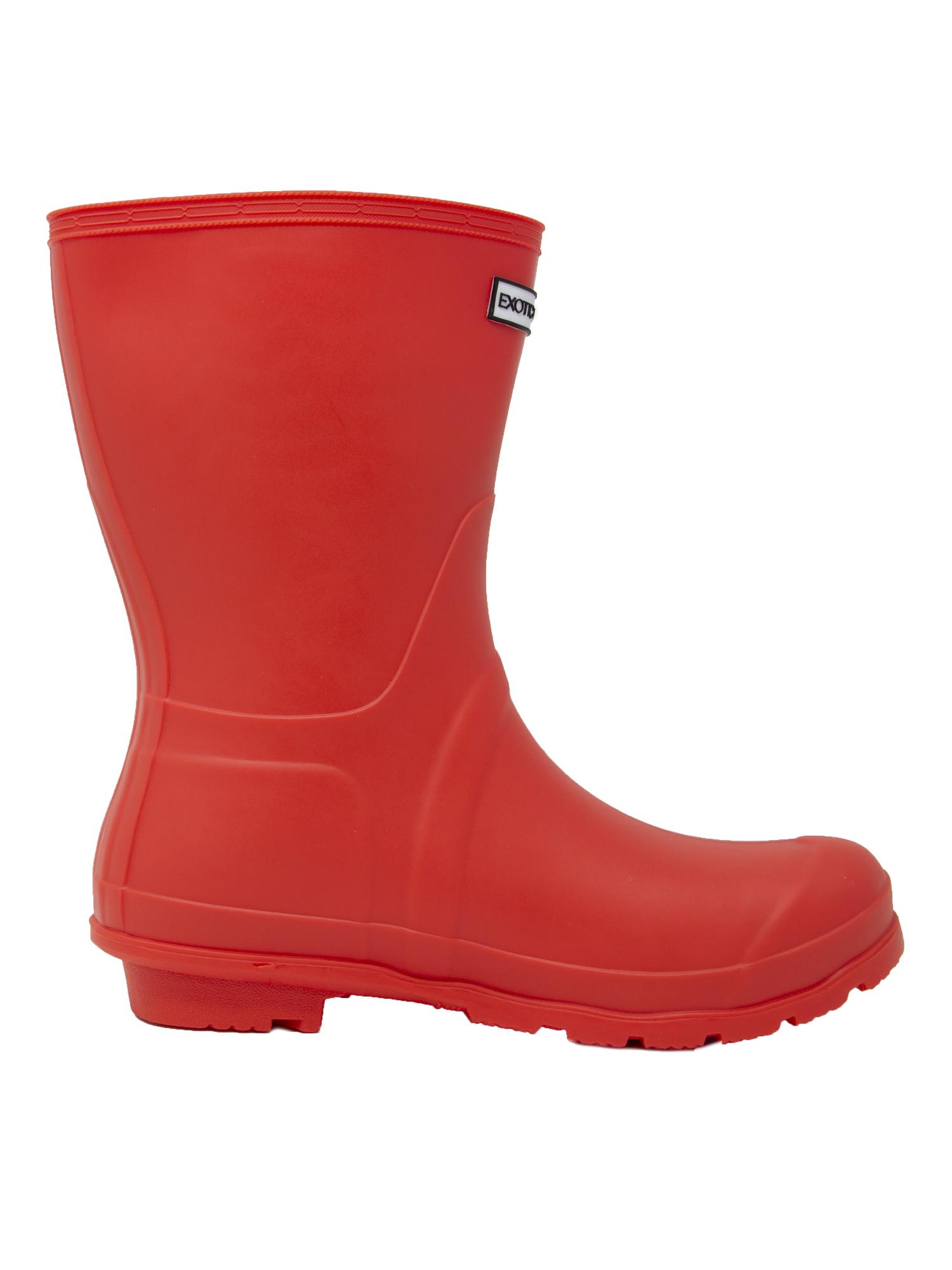 Exotic-Identity-Short-Rain-Boots-Non-Slip-100-Waterproof-for-Women thumbnail 15