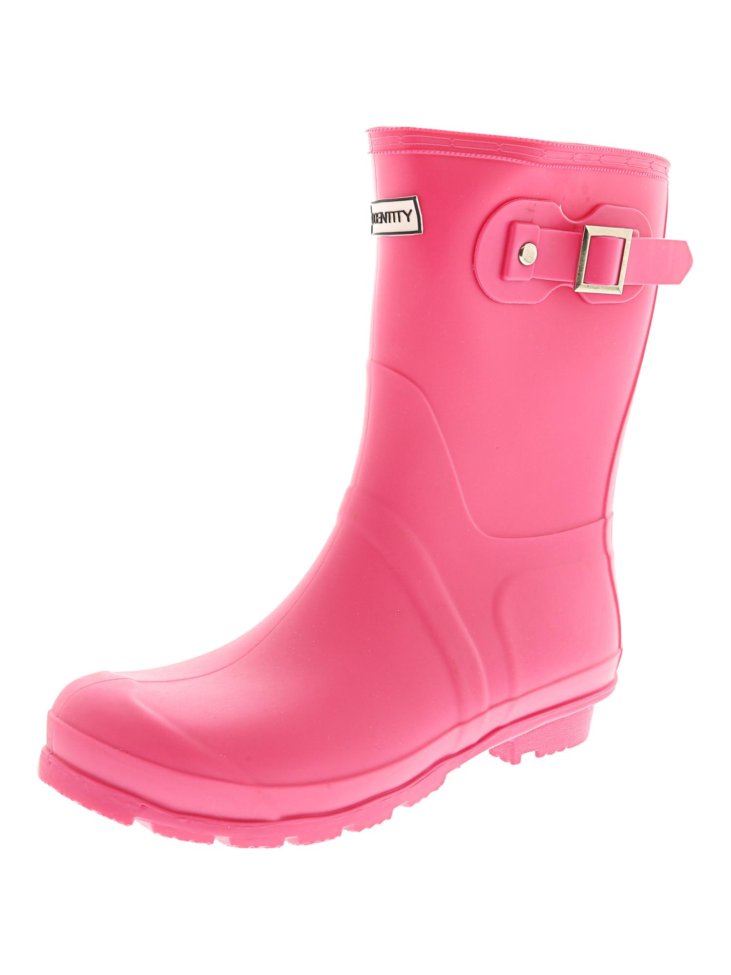 Exotic-Identity-Short-Rain-Boots-Non-Slip-100-Waterproof-for-Women thumbnail 13