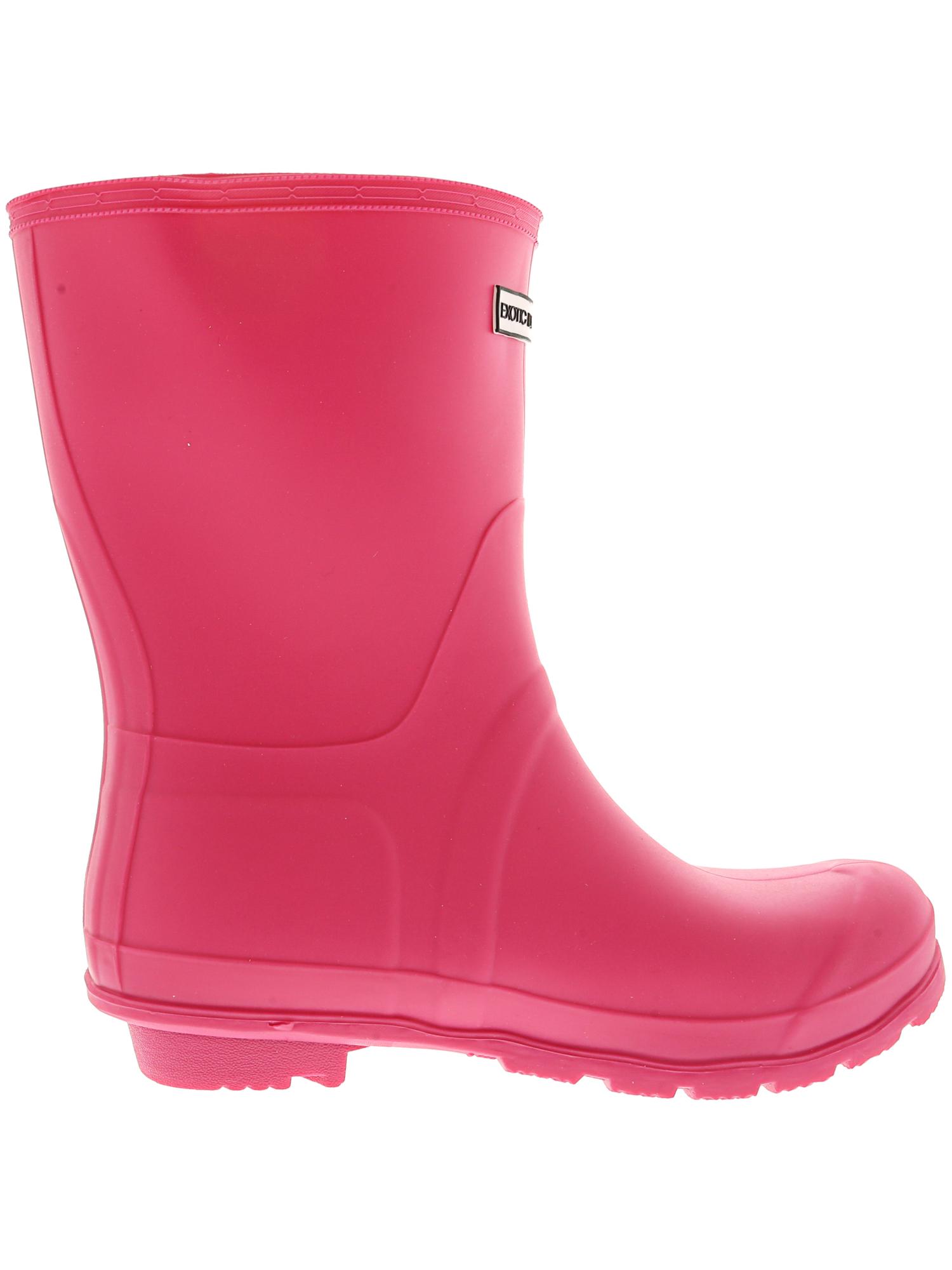 Exotic-Identity-Short-Rain-Boots-Non-Slip-100-Waterproof-for-Women thumbnail 12