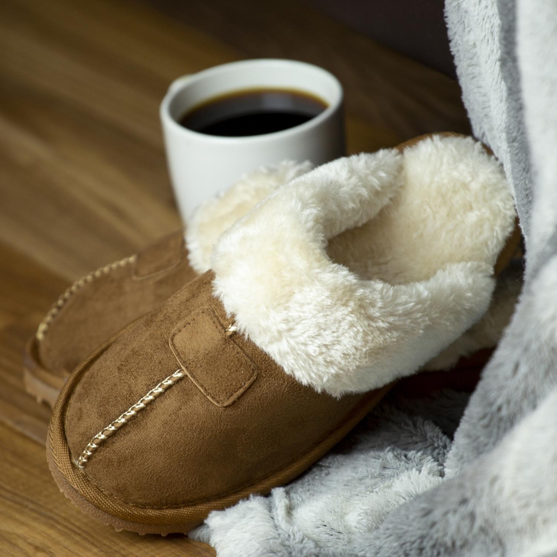 Kreated-Equal-Ultra-Cozy-Faux-Fur-Colette-Slipper-Cozy-Nonslip-Tread thumbnail 14