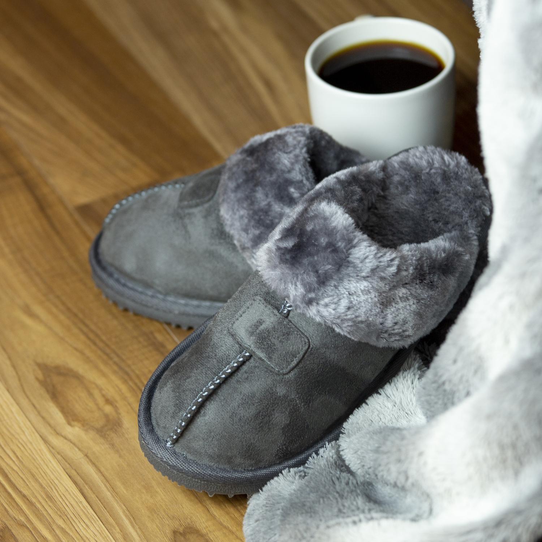 Kreated-Equal-Ultra-Cozy-Faux-Fur-Colette-Slipper-Cozy-Nonslip-Tread thumbnail 20