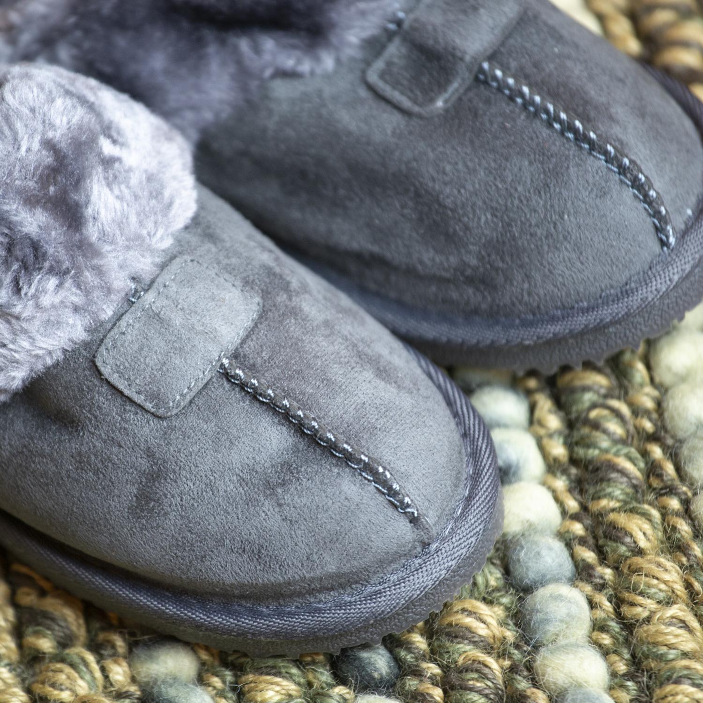 Kreated-Equal-Ultra-Cozy-Faux-Fur-Colette-Slipper-Cozy-Nonslip-Tread thumbnail 23