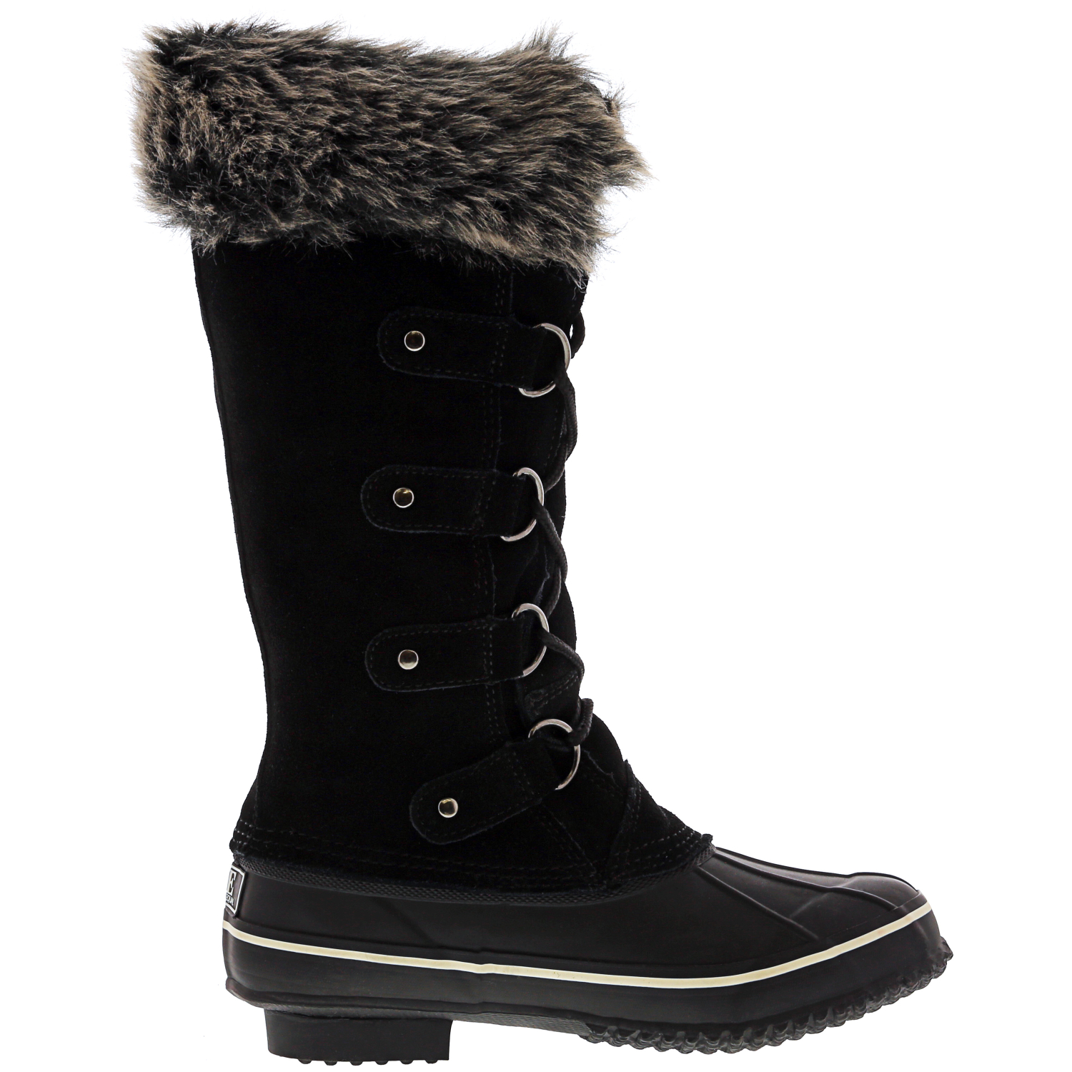 Kreated-Equal-Faux-Fur-Women-039-s-Tall-Arctic-Winter-Boots thumbnail 8