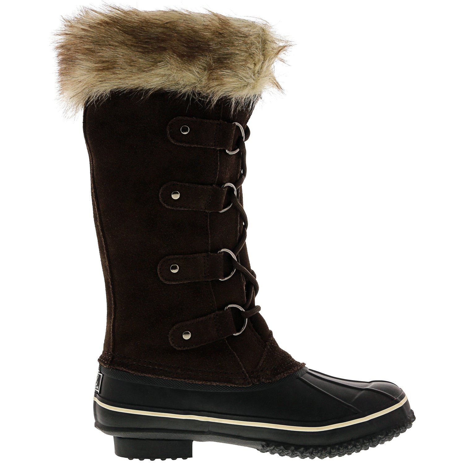 Kreated-Equal-Faux-Fur-Women-039-s-Tall-Arctic-Winter-Boots thumbnail 14