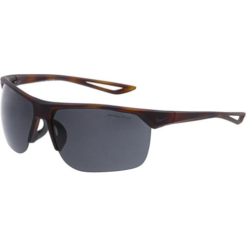 Nike Men's Interchangeable Trainer EV0934-200 Brown Rectangle Sunglasses