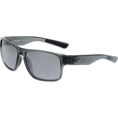 Nike Men's Mirrored Mavrk Ev0771/59/Murcy Gry/Blk/Gry Silver Fl EV0771-010-59 Grey Rectangle Sunglasses