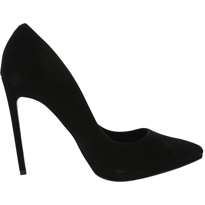 Steve Madden Women/'s Lovey Nubuck Ankle-High Pump